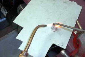 Припайка олова к металлу