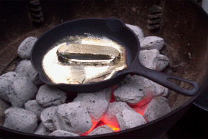 Переплавка олова
